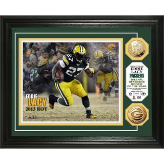 NFL Eddie Lacy 2013 NFL Rooke of the Year Gold Coin Photo Mint
