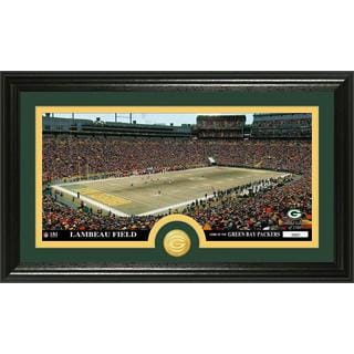 "NFL Green Bay Packers ""Stadium"" Bronze Coin Panoramic Photo Mint"