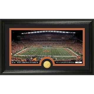 "NFL Cincinnati Bengals ""Stadium"" Bronze Coin Panoramic Photo Mint"