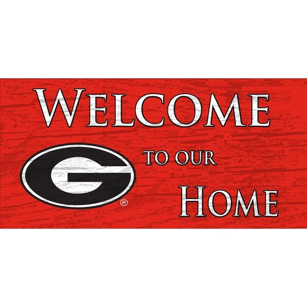 University of Georgia 'Welcome to Our Home' Sign