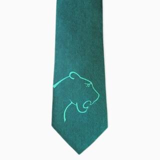 Effy Couture Green Silk Necktie