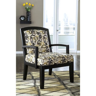 Signature Design by Ashley Mallbern Charcoal Accent Chair