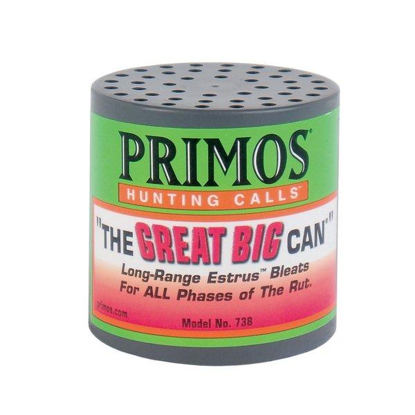Primos 'The Great Big Can' Long-range Estrus Bleats Call