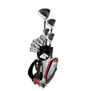Orlimar Sport ATS Nano White Men's Right Hand Uniflex Graphite/ Steel Complete Golf Set