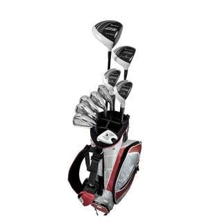 Orlimar Sport ATS Nano White Men's Right Hand Uniflex Graphite/ Steel Complete Golf Set