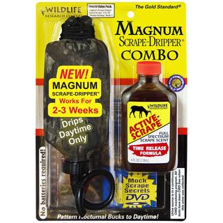Wildlife Research Center Magnum Active-scrape 4-ounce Dripper Combo