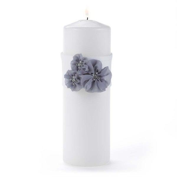 Hortense B. Hewitt Glamorous Grey Unity Candle