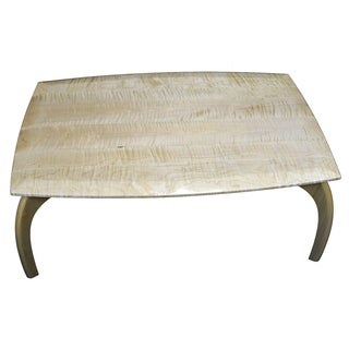 Art Kieres Arches Limited Edition Curly Maple Coffee Table