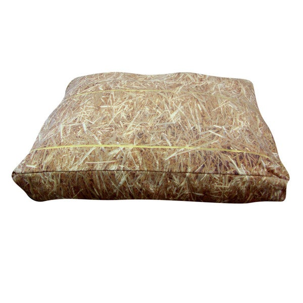 Dogzzzz Rectangular Hay Dog Bed