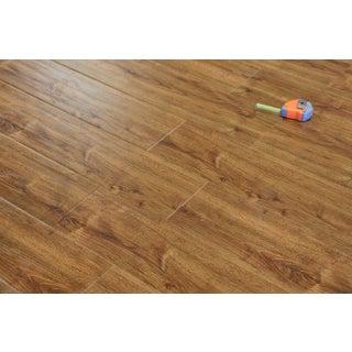 Kokols 12 mm Mission Oak Wide Plank Laminate Flooring (21.25 sq ft)