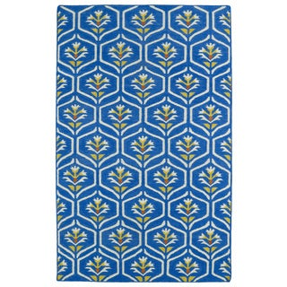 Hollywood Blue Flatweave Rug (2' x 3')