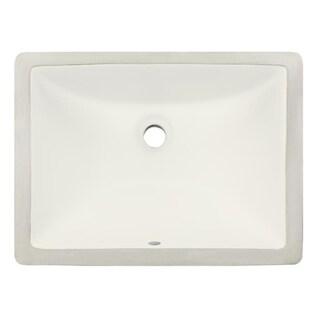 Phoenix Square Almond Vitreous Porcelain Bathroom Sink