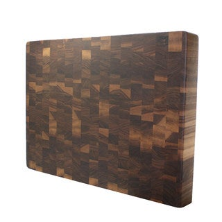 Square Kobi Blocks Walnut End Grain Butcher Block Cutting Board