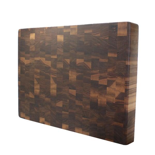 Square kobi blocks walnut end grain butcher block cutting