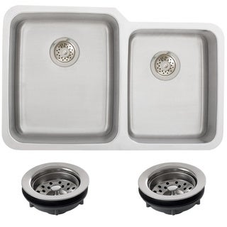 Ticor 1205BG-REG Undermount Double Bowl Kitchen Sink