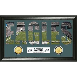 NFL Philadelphia Eagles 'Word Art' Bronze Coin Panoramic Photo Mint