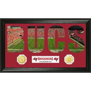 NFL Tampa Bay Buccaneers 'Word Art' Bronze Coin Panoramic Photo Mint
