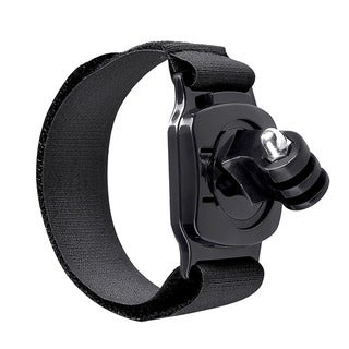 INSTEN Black Secure Wrist Strap Sport Arm Band Mount for GoPro Hero 1/ 2/ 3/ 3+