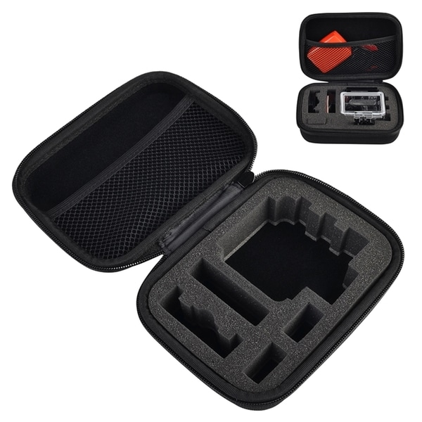 INSTEN Black Professional Protective Camera Case Bag for GoPro Hero 1/ 2/ 3/ 3+