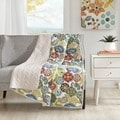 Mi Zone Asha Quilted Reversible Throw