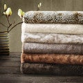 Madison Park Signature Luxury Faux Fur Throw in Gift Box