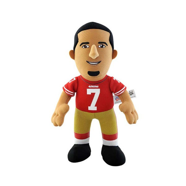 San Francisco 49ers Colin Kaepernick 10-inch Plush Doll