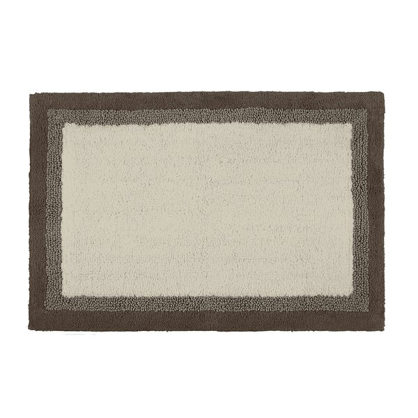 Madison Park Eastridge Taupe Bath Rug