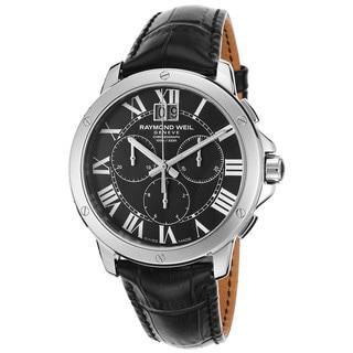 Raymond Weil Men's 4891-STC-00200 Tango Chronograph Black Leather Watch