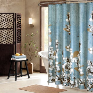 Artology Sakura Cotton Shower Curtain