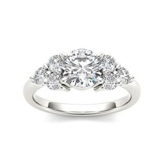 De Couer 14k White Gold 2ct TDW Diamond Ring (H-I, I2)