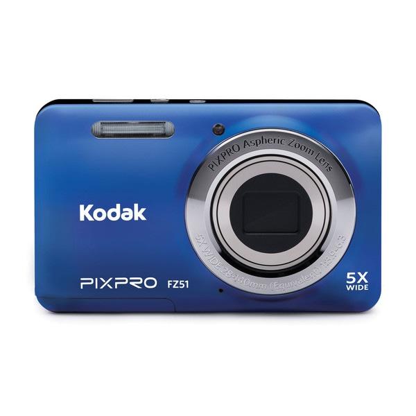 Kodak PIXPRO FZ51 16MP Blue Digital Camera