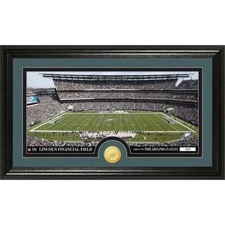 NFL Philadelphia Eagles 'Stadium' Bronze Coin Panoramic Photo Mint