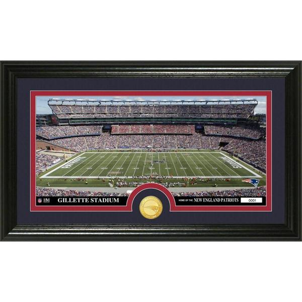 NFL New England Patriots 'Stadium' Bronze Coin Panoramic Photo Mint