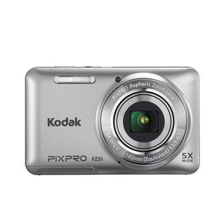 Kodak PIXPRO FZ51 16MP Silver Digital Camera