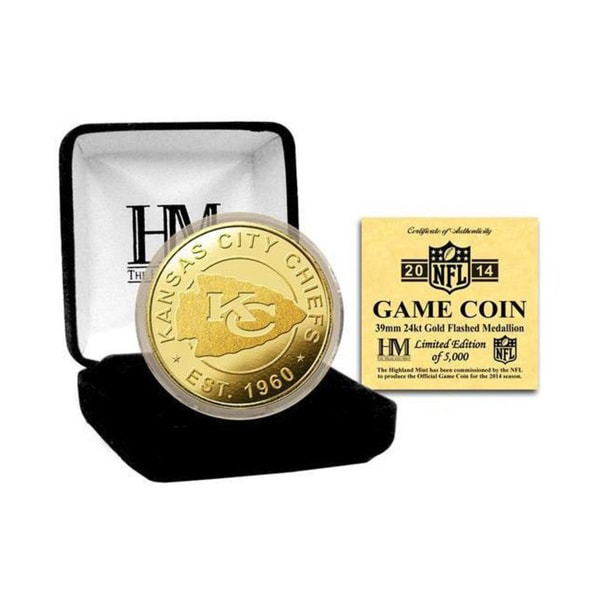 NFL Kansas City Chiefs 2014 Game Coin