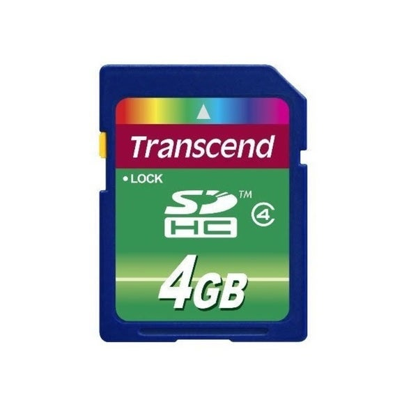 Transcend 4GB Class 4 SDHC Memory Card