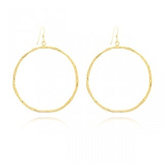 Midsize Round Passion Dangle Earrings