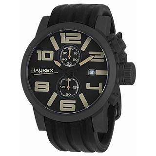 Haurex Italy Men's TURBINA II Collection 6N506UTM Analog Display Chronograph Watch