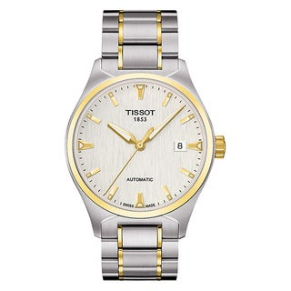 Tissot Men's T0604072203100 'T-Tempo' Automatic Two-tone Watch