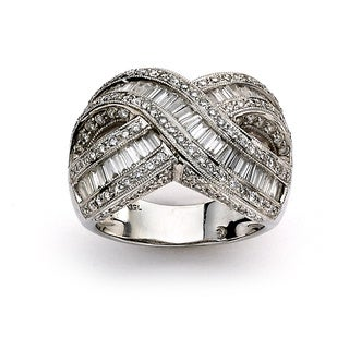 Diamonds for a Cure 18k White Gold Anniversary Diamond Ring (G-H, SI1-SI2)