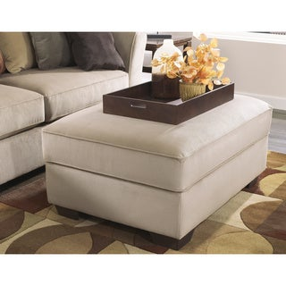Signature Design by Ashley Laken Mocha Ottoman with Storage