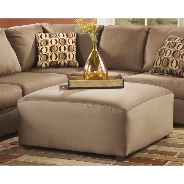 Signature Design by Ashley Cowan Mocha Oversized Accent Ottoman