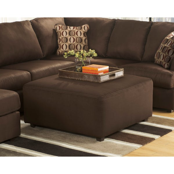 Signature Design by Ashley Cowan Cafe Oversized Accent Ottoman