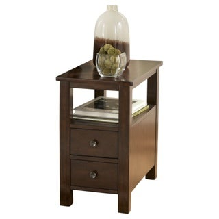 Signature Design by Ashley Marion Dark Brown End Table