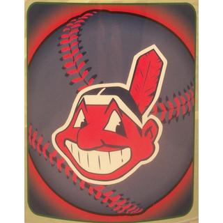 Cleveland Indians Fleece Throw Blanket