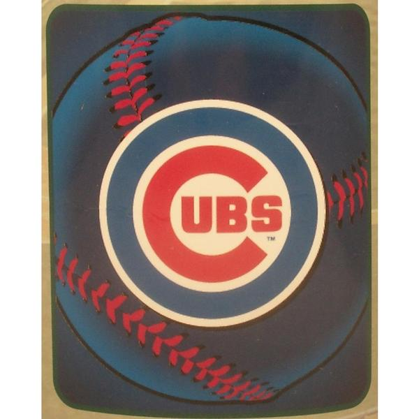 Chicago Cubs Fleece Throw Blanket