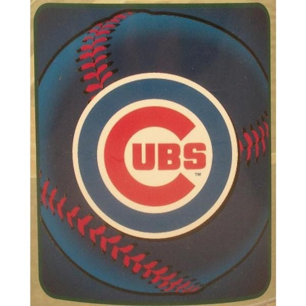 Chicago Cubs Fleece Throw Blanket