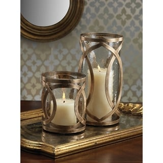 Madera Hurricane Candle Holder (Set of 2)