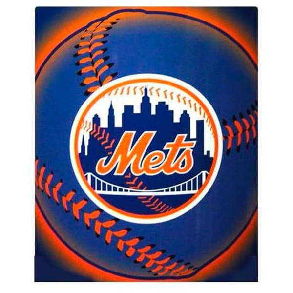New York Mets Fleece Throw Blanket