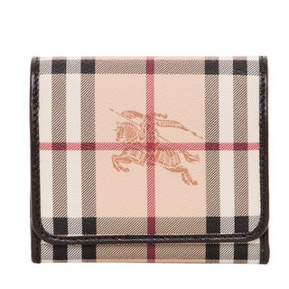 Burberry Medium Haymarket Leighton Wallet